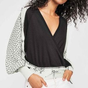 Free People Thermal Auxton Top